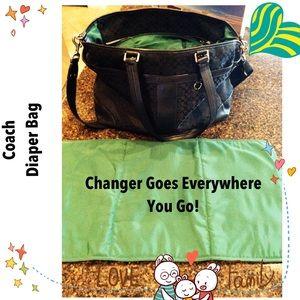 Coach Baby Bag or Shoulder Bag